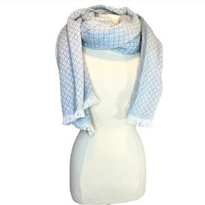 Gray & White Warm Women's Scarf/Shawl by Merona OS